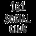 101 social club logo